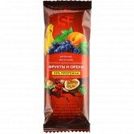 Батончик «Smart formula» фрукты, орехи и протеин, 40 г.