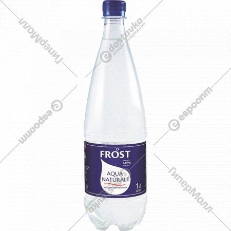 Вода питьевая «Фрост» Classic среднегазированная 1 л