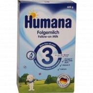 Модлочная cмесь «Humana 3» с пребиотиками 600 г.
