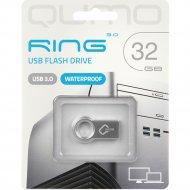 USB Flash «Qumo» Ring 32GB 3.0, QM32GUD3-Ring