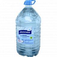 Вода питьевая «Минская» негазированная, 5 л.