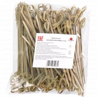 Шпажки бамбуковые, 12 см, 100 шт.