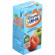 Сок «Фруто Няня» яблоко-персик, 200 мл.