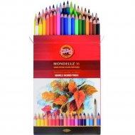 Набор цветных карандашей «Koh-I-Noor» Mondeluz, 3719036001, 36 цветов