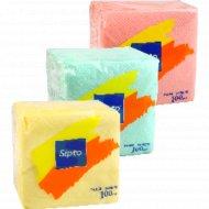 Салфетки «Sipto» цветные 24х24 см, 100 шт.