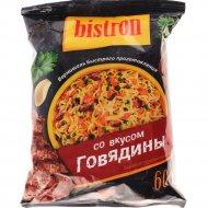 Вермишель «Бистрон» со вкусом говядины 60 г.