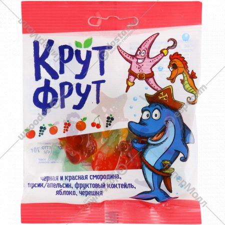 Жевательный мармелад «Крут Фрут» ассорти, морские животные, 70 г.