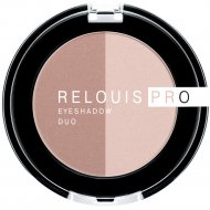 Тени-пигмент для век «Relouis» Pro Eyeshadow Duo, тон 101, 3 г.