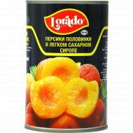 Персики в легком сиропе «Lorado» 425 мл.