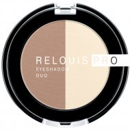Тени-пигмент для век «Relouis» Pro Eyeshadow Duo, тон 102, 3 г.