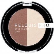 Тени-пигмент для век «Relouis» Pro Eyeshadow Duo, тон 103, 3 г.