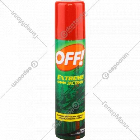 Аэрозоль «Off Extreme» от насекомых, 100 мл.