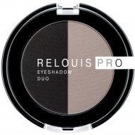 Тени-пигмент для век «Relouis» Pro Eyeshadow Duo, тон 106, 3 г.