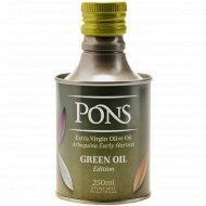 Масло оливковое «Pons» нерафинированноевысшего качества, 0.25 л.