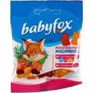 Мармелад жевательный «babyfox» ассорти, с витаминами, 30 г.