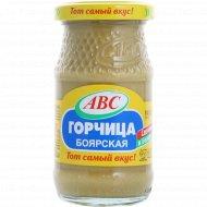 Горчица «ABC» боярская, 160 г