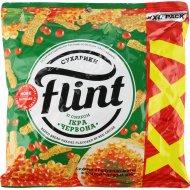 Сухарики пшенично-ржаные «Flint» со вкусом красной икры, 150 г.