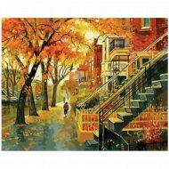 Живопись по номерам «Мой дом» с акриловыми красками 40х50см.