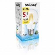 Лампа cветодиодная «Smartbuy» A60-5W/4000/E27.
