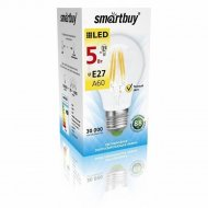 Лампа cветодиодная «Smartbuy» A60, 5W, 4000, E27.