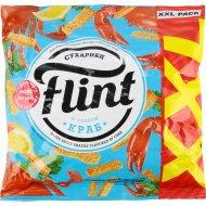 Сухарики пшенично-ржаные «Flint» со вкусом краба, 150 г.
