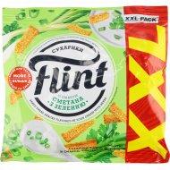 Сухарики пшенично-ржаные «Flint» со вкусом cметана с зеленью, 150 г.