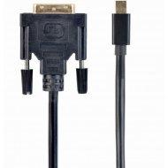 Кабель «Cablexpert» CC-MDPM-DVIM-6 1.8М черный.