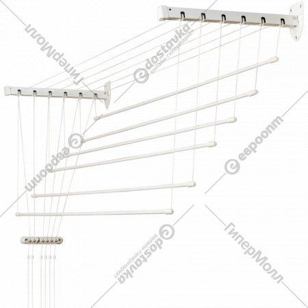 Сушилка для белья «Comfort Alumin» Лифт, стеновая, 6 прутьев, 1.4 м