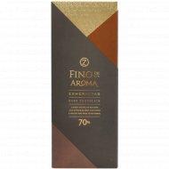 Шоколад горький «O'zera» 70%, 90 г.