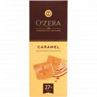 Шоколад белый «O'zera» карамельный, 90 г.