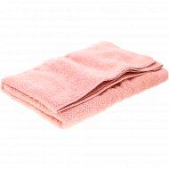 Полотенце махровое с борд(р70x140)бл.роз
