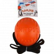 Мяч с лентой большой «Doglikel» для животных.