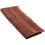 Полотенце «Barakat-Tex» 40-70BS-905, шоколадный, 40х70 см