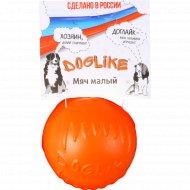 Мяч малый «Doglikel» с этикеткой DM7341.