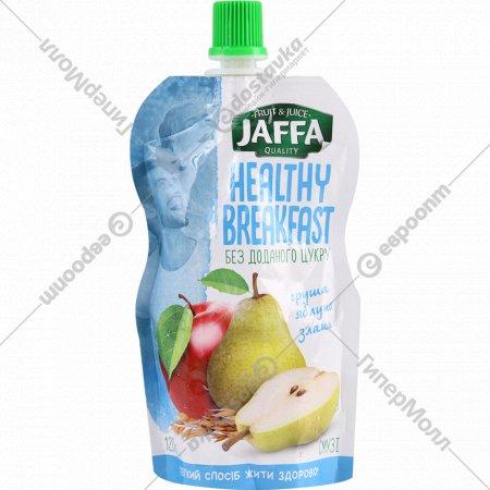 Смузи «Jaffa» груша-яблоко со злаками, 120 г.