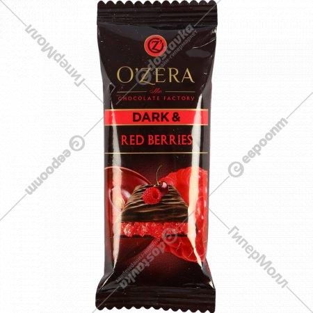 Горький шоколад «O'Zera» Red Berries, 40 г.