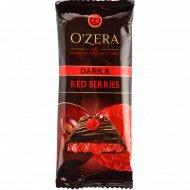 Шоколад горький «O'zera» c ягодной начинкой, 90 г.