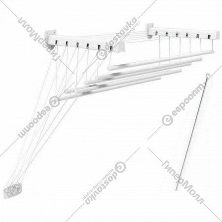 Сушилка для белья «Comfort Alumin» Лифт, стеновая, 6 прутьев, 2.5 м