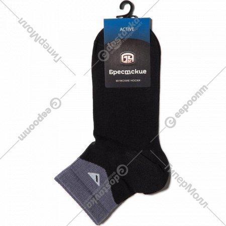 Носки мужские, черные, размер 27.