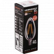 Лампа светодиодная «Horizont» C37 4W 4000K E14.