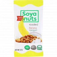 Соевые бобы со вкусом «Йогурт-банан» жареные, 50 г.
