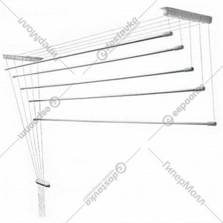 Сушилка для белья «Comfort Alumin» потолочная, 5 прутьев, 1.2 м