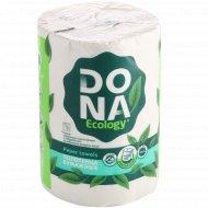 Полотенца бумажные «Dona» двухслойные, 1 рулон