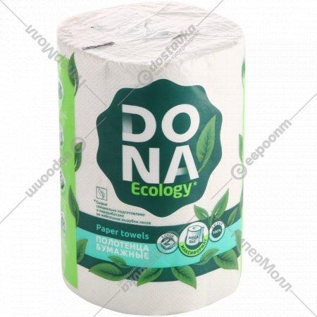 Полотенца бумажные «Dona» двухслойные, 1 рулон.