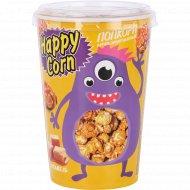 Воздушная кукуруза «Happy Corn» карамель, 85 г