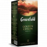 Чай чёрный «Greenfield» Golden Ceylon, 25 шт.