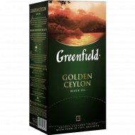 Чай черный «Greenfield» Golden Ceylon, 25х2 г