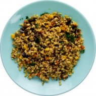 Булгур с овощами замороженный, 150 г.