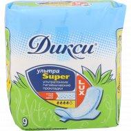 Гигиенические прокладки «Дикси» Super ультра, 9 шт.