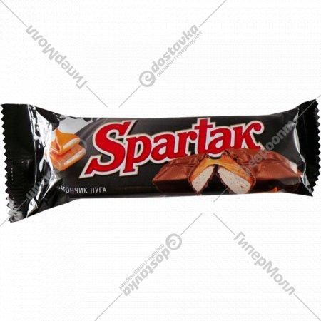 Шоколадный батончик «Spartak» мягкая карамель, 48 г.